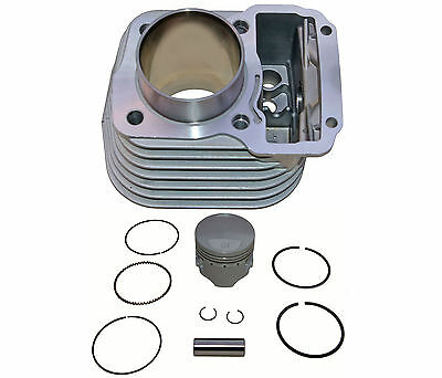 Barrel & piston kit to fit Honda CG125ES - standard size 56.50mm - 13mm g/pin