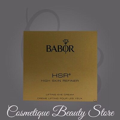 BABOR HSR EXTRA FIRMING EYE CREAM - 6X3ml SAMPLES=TOTAL 18ML!!!