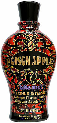 Synergy Tan POISON APPLE Tingle & Silicone Accelerator FAST POST & 3 FREE GIFTS