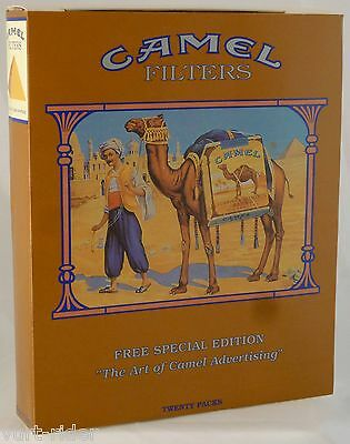 CAMEL 1993 Collector's ltd Edition USA Joe's Place 20 sealed soft Pack +booklet