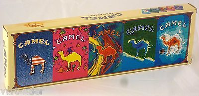 CAMEL ANNIVERSARY 1993 5 pack store display - empty unused only for sellers