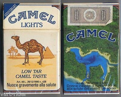 CAMEL LIGHTS cigarette Italy empty pack ANNIVERSARY 1993 #5 Donne incinte: il...
