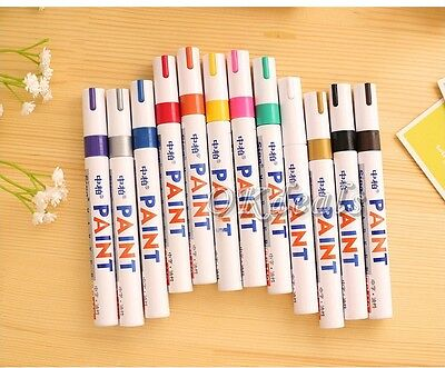 Waterproof Paint Marker MEDIUM Tip Pens OIL BASED. Most surfaces Indoor &Outdoor