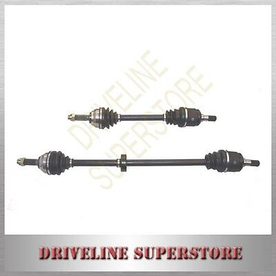 A SET OF two CV JOINT DRIVE SHAFTS for HYUNDAI ACCENT MANUAL 2000-2005