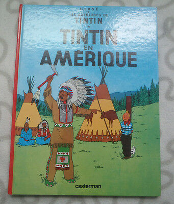 NEW Herge TINTIN IN AMERICA 1947 FRENCH LANGUAGE Version 1ST EDITION MINT Comic