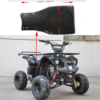 BLACK Foam Seat 90cc 110cc 125cc 150cc Farm Style PIT QUAD DIRT BIKE ATV