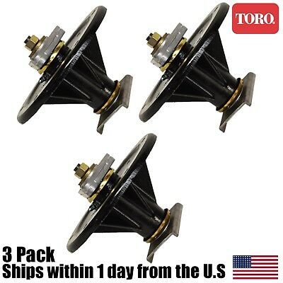 3pk Deck Spindle Assembly Toro Z Master 400 410 441 449 450 453 500 528 107-8504