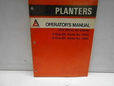 Used Allis-Chalmers Planters 330 Series Air Champ 4Row 6Row Serial No. 1500-19F5