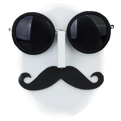 Mustache Beard Face Glasses Sunglasses Spectacle Display Stand Show Holder