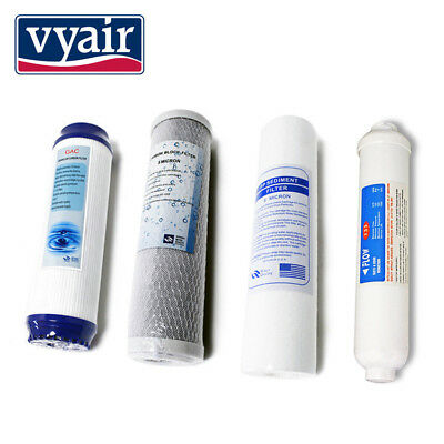 Spare Filters Vyair RO-1 - 4 Pre Filters for Reverse Osmosis Water Filters