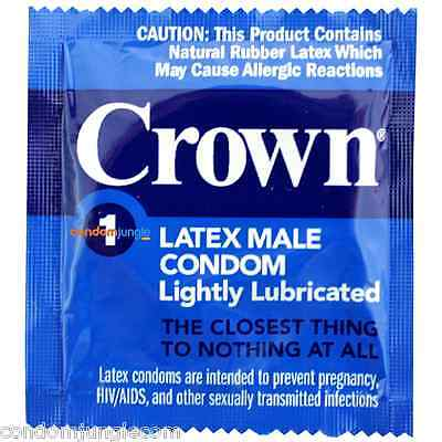 Crown Skinless Skin Condoms (Bulk Pack)