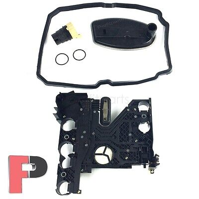 New Transmission Conductor Plate+Filter+Connector+Gasket KIT for Mercedes Benz