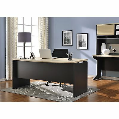 Executive Office Desk Computer Business Furniture Large Work Surface Home Modern