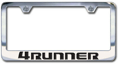 NEW Dodge Charger Chrome License Plate Frame Engraved Block Letters