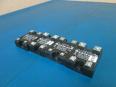 Lot of 4 OPTO 22 DC60S3 SOLID STATE RELAY