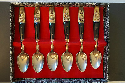 Collectable - Vintage - Samrand - Thai Spoons with Box.