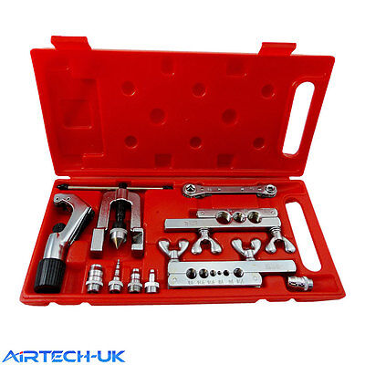 Flaring & Swaging Tool Kit Tube Pipe Expander Air Conditioning Refrigeration