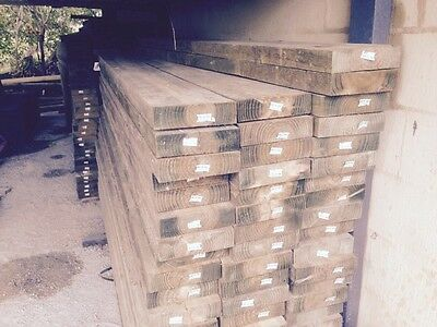 H4 Treated Pine Sleepers 200 x 50 at 3.0m. *Free delivery within 10kms