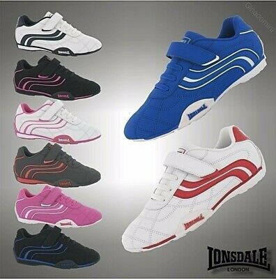 Kids Girls Boys Lonsdale Camden Trainers Sports Shoes Size C10 C11 C12 C13 1 2