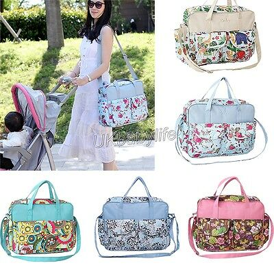 Hot Mummy Waterproof Baby Nappy Changing Bags With Changing Mat Diaper Bag Tote