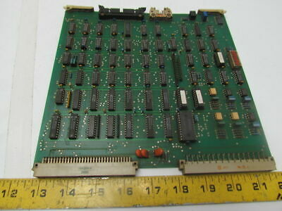 Bystronic 715-5-C Circuit Control PC Board From BL1500DC