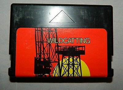 Vintage Rare Radio Shack Color Computer Wildcatting Game Cartridge 26-3067