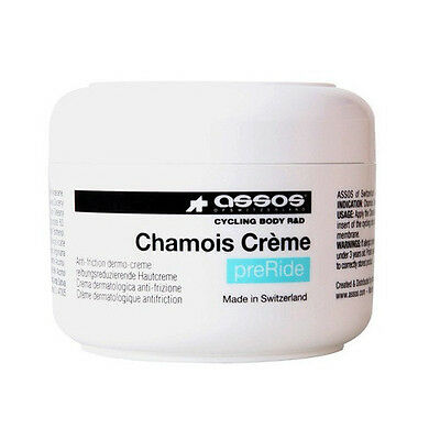 New Assos Chamois Cream 4.73 Fl Oz Bicycle Cycling Pre Ride Skin Friction Reduce