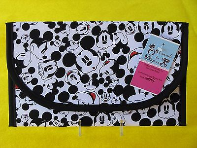 Mickey Mouse Faces Diaper and Wipes Case Holder Clutch Bag
