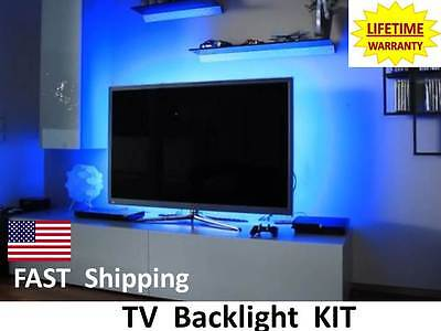 "LED & LCD Flat Screen TV BACKLIGHTING - fits Sharp 37"" 40"" 42"" 50"" 52"" 55"" 60"""