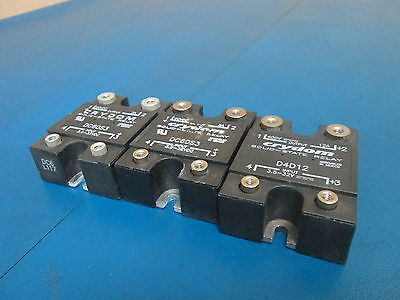 Lot of 2 CRYDOM SOLID-STATE RELAY DC60S3 + 1x D4D12
