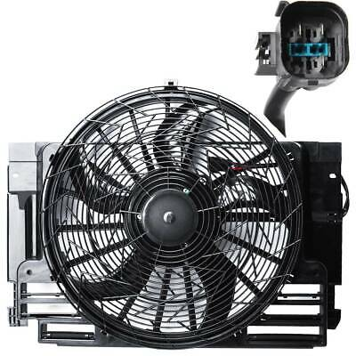 New A/C AC Radiator Condenser Cooling Fan fit 00-06 BMW X5 5 Blade 64546921381