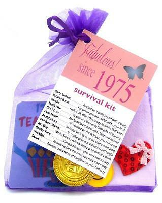 30th 40th 50th 60th BIRTHDAY PRESENT SURVIVAL KIT FUN NOVELTY GIFT CARD KEEPSAKE