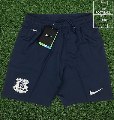 Everton Third Shorts - Official Nike EFC Football Shorts - Boys - All Sizes