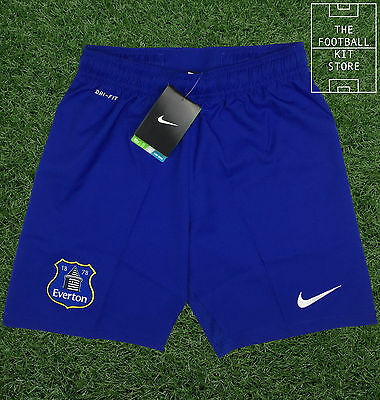 Everton Away Shorts - Official Nike Boys Football Shorts - All Sizes