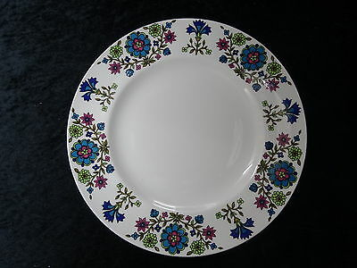 C1960/70's Midwinter China (26.5cm) Dinner Plate with Country Garden Pattern.