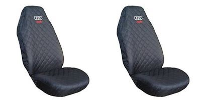 New Front Seat Covers for  Audi A1 , A2 , A3 , A4 , A6 emboidery logo