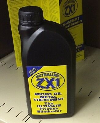 ZX1 5 Litre. Micro Oil Metal Treatment  - The Ultimate Friction Eliminator