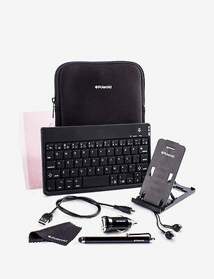 "Premium Essentials Accessory Kit for iPad Mini, Samsung Galaxy, 7"" & 8"" Tablets"