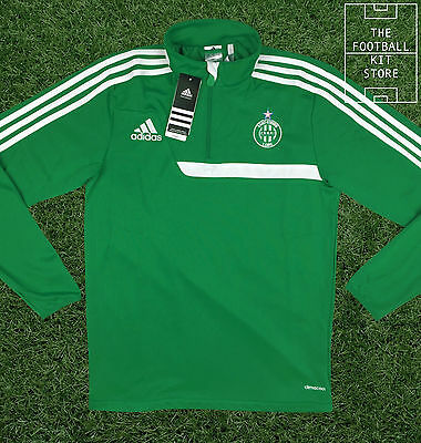 ASSE Training Midlayer - Official Adidas Saint Etienne Football Sweater - Mens
