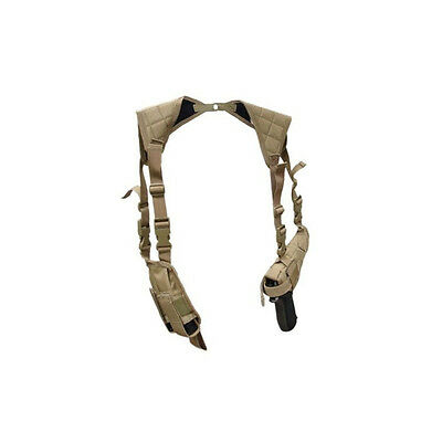 Condor Universal Shoulder Holster - Coyote Tan tactical mil spec pistol NEW