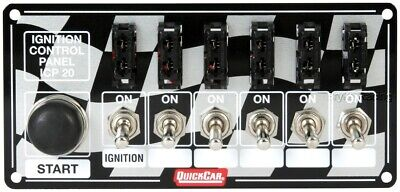 Fused Ignition Control Switch Panel Five Fuse Switches QuickCar Wiring
