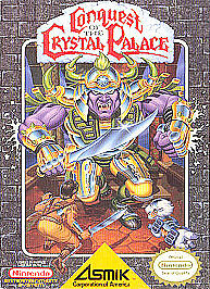 Conquest Of The Crystal Palace Nes Nintendo Game Cosmetic Wear