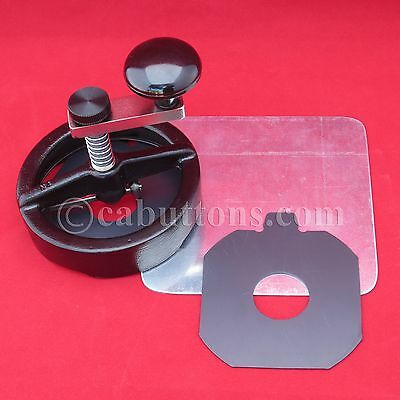 Adjustable Rotary Circle Cutter Button Maker Machine Press 1,1-1/2,2-1/4,3,3-1/2