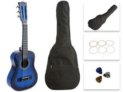 Star Kids CG621-BSP Toy Guitar 27 Inches Blue With Bag, Strings & Picks