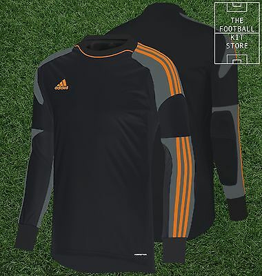 Adidas Revigo Goalkeeper Shirt - Padded Elbows - GK Football Jersey - Mens - XL