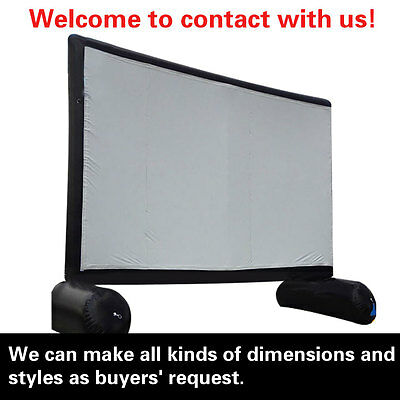 26.25ft*13ft,giant inflatable movie/advertising screen,Front/Rear Projection