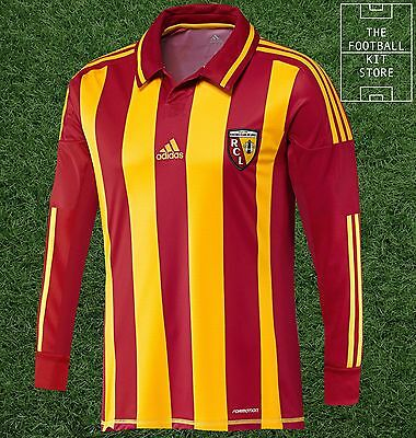 RC Lens Home Shirt - Official adidas Racing Lens Long Sleeved Shirt - All Sizes