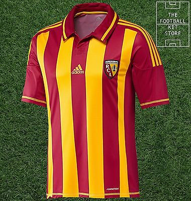 RC Lens Home Shirt - Official adidas Racing Lens Football Jersey - All Sizes