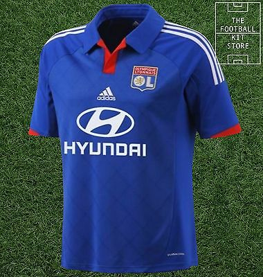 Lyon Away Shirt - Official Adidas Olympique Lyonnais Football Jersey - All Sizes