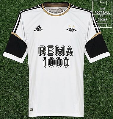 Rosenborg BK Home Shirt - Official Adidas Norwegian Football Shirt - All Sizes